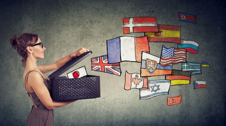 Image of different languages in the post how to hire a proficient translator