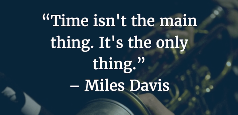 time-isnt-the-main-thing