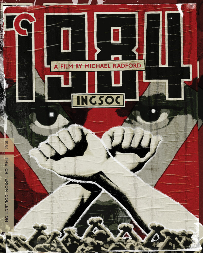 Image of 1984 movie poster in Why George Orwell Matters blog