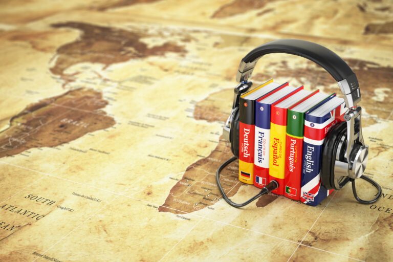 Dictionaries and head phones in the post how to keep your foreign language skills sharp