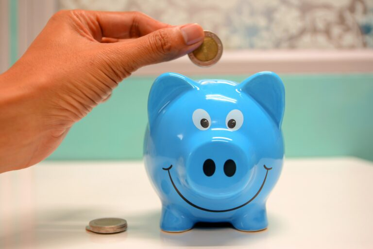 Image of piggy bank in the blog post How to reduce professional translation costs - 3 ways