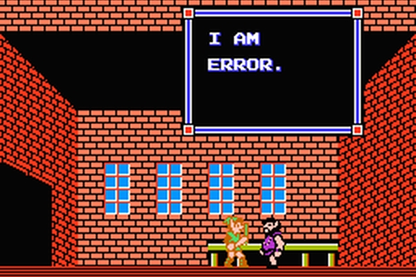 Image of video game translation fail in the post human translation of video games
